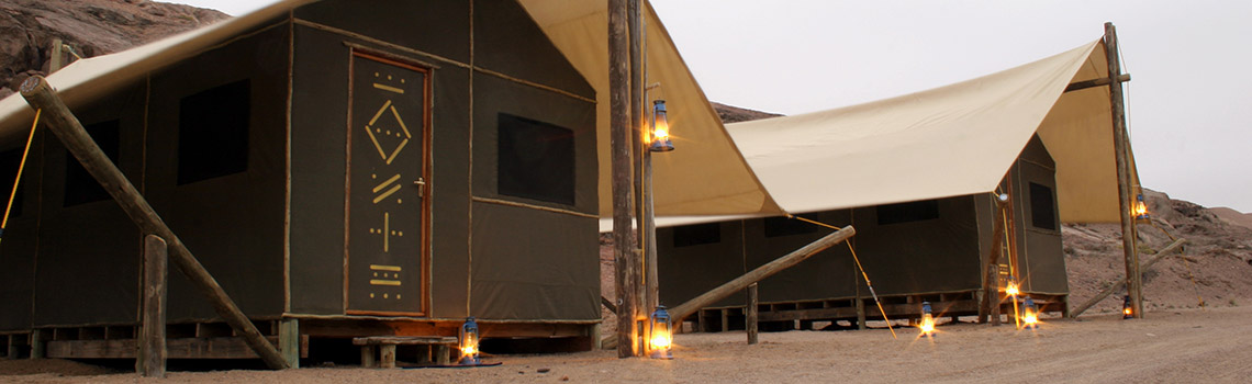 Pepe Bush Camp Builders - Skeleton Coast Camp